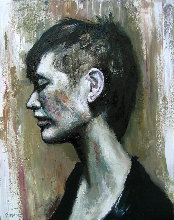 Portrait Painting - Clara 6 by Yuki Komura