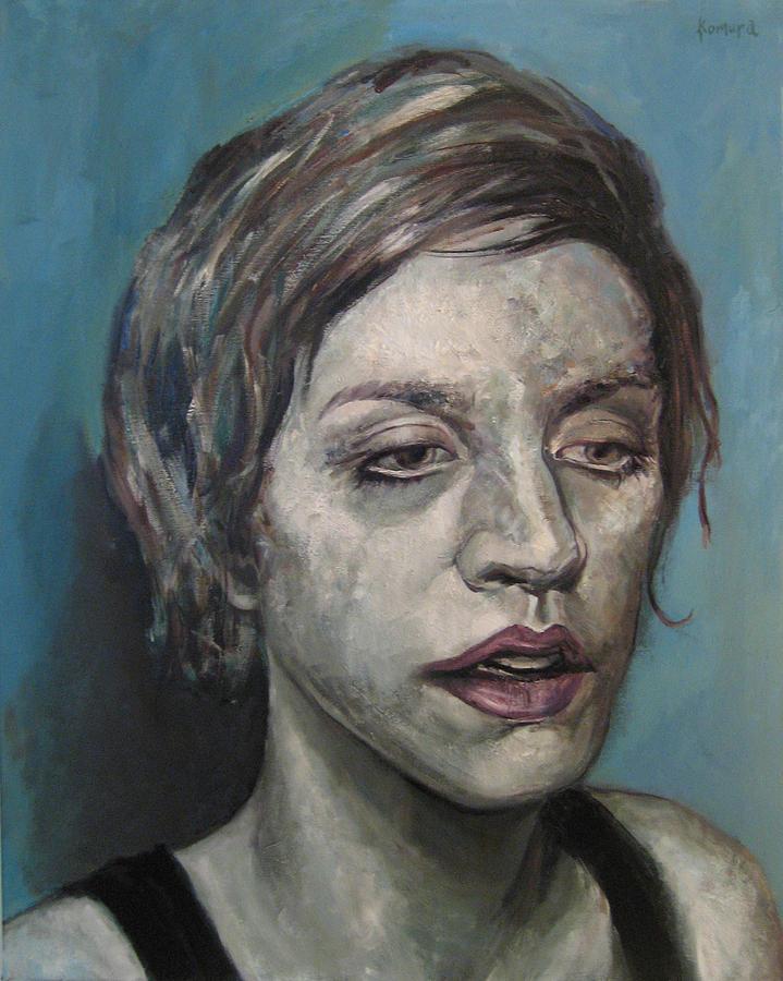 Portrait Painting - Clara 8 by Yuki Komura