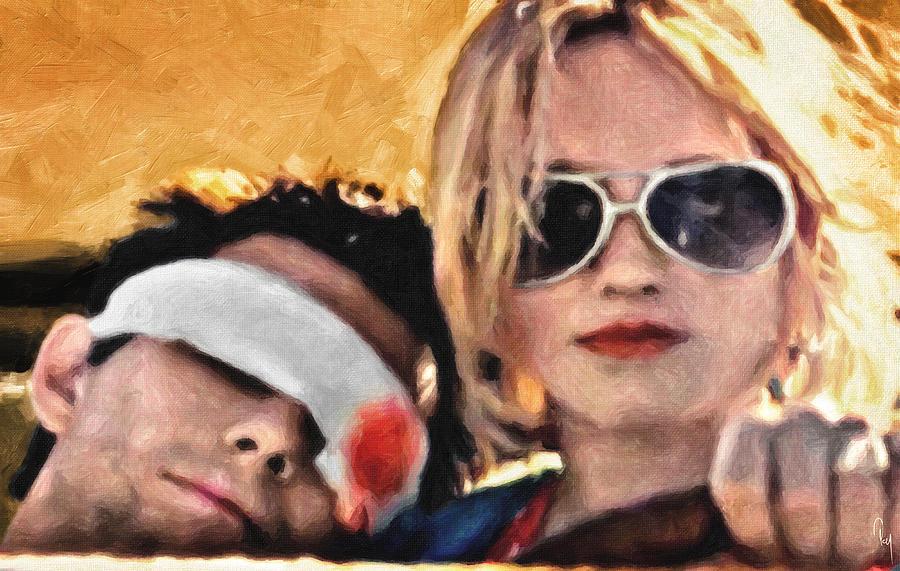 True Romance Painting - Clarence And Alabama by Zapista Zapista