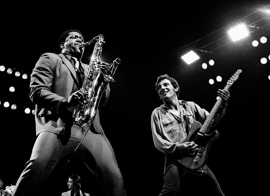 Bruce Springsteen Photograph - Clarence And Bruce 1981 by Chris Walter