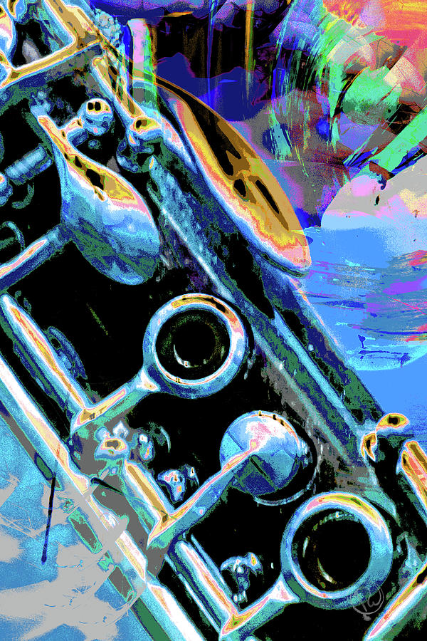 Clarinet Keys by Pamela Williams