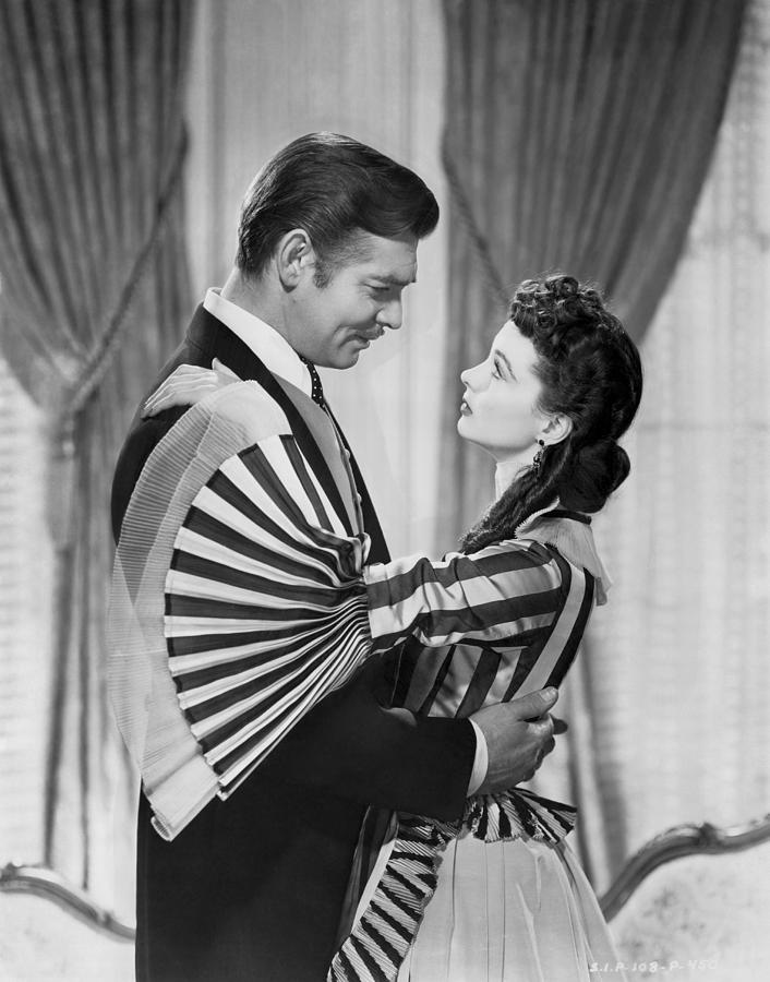 1930s Photograph - Clark Gable And Vivien Leigh by Underwood Archives