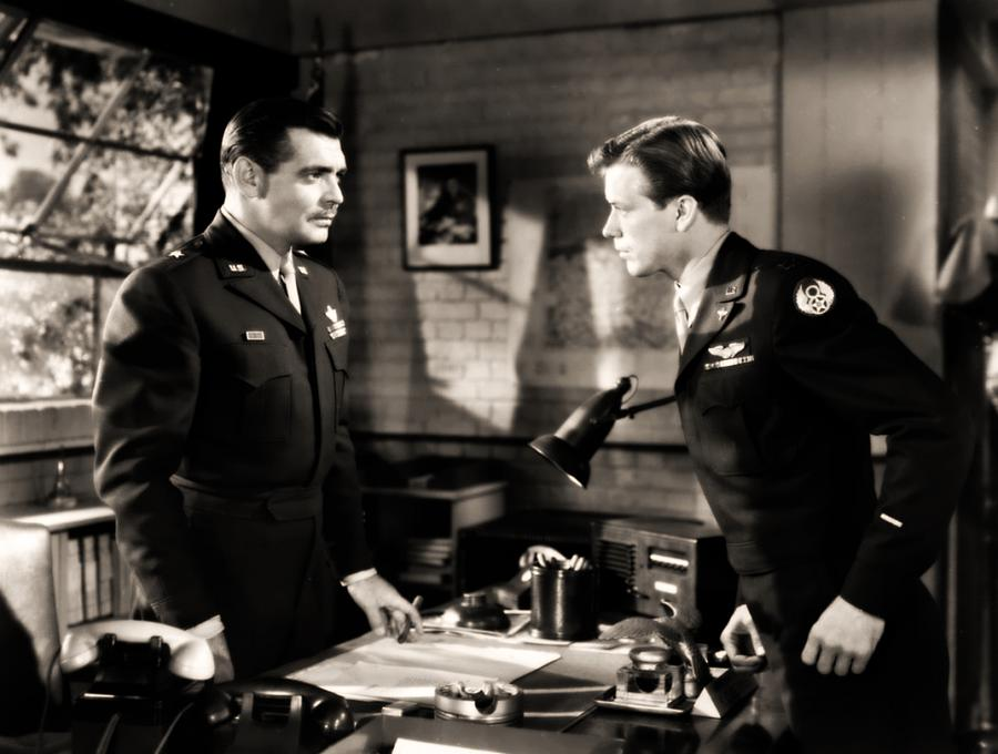 Clark Gable appearing In Command Decision by R Muirhead Art