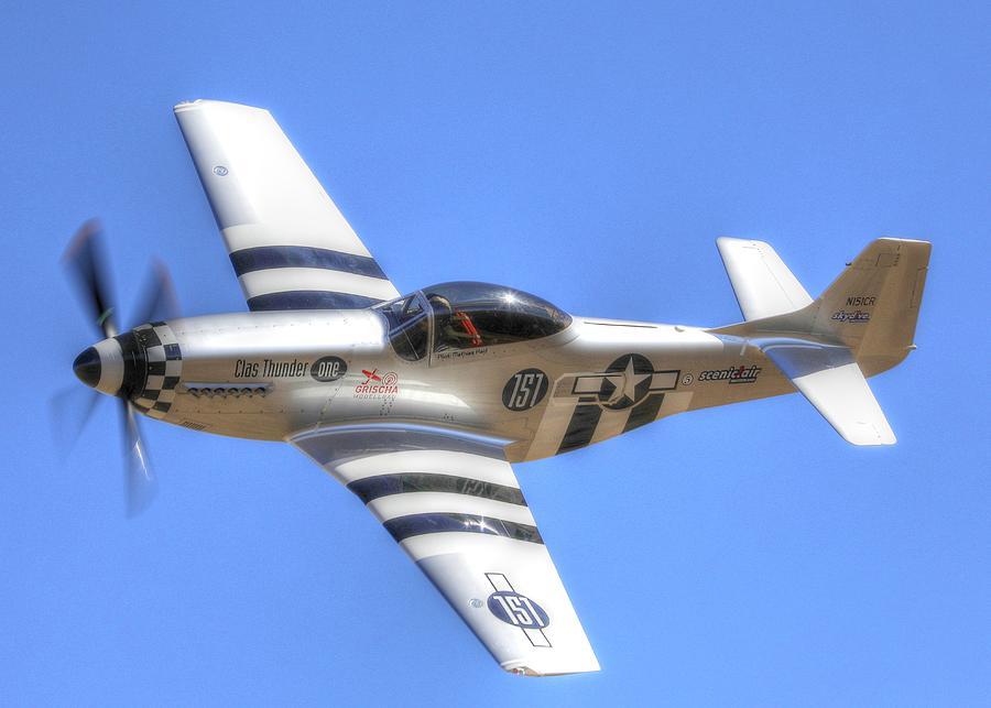 Reno Air Races Photograph - Clas Thunder by John King