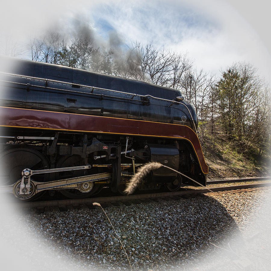 Class J 611 Steams By Photograph