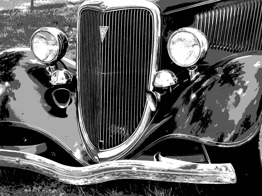 Car Photograph - Classic 2 by Audrey Venute