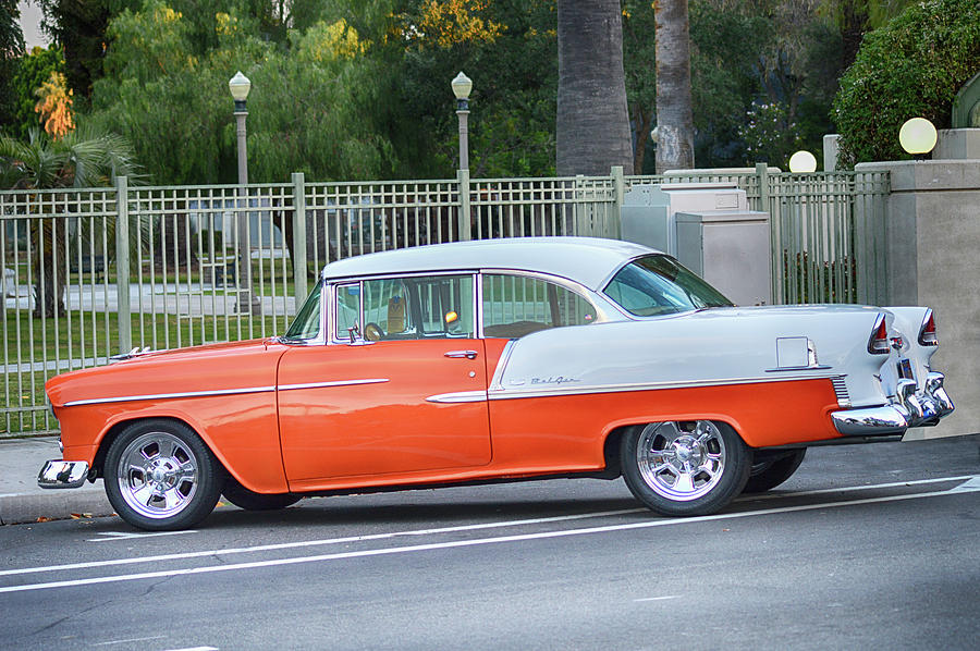 Classic 55 Chevy by Bill Dutting
