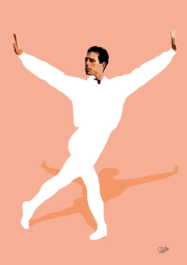 Dancer Digital Art - Ballet Master Dancer by Joaquin Abella