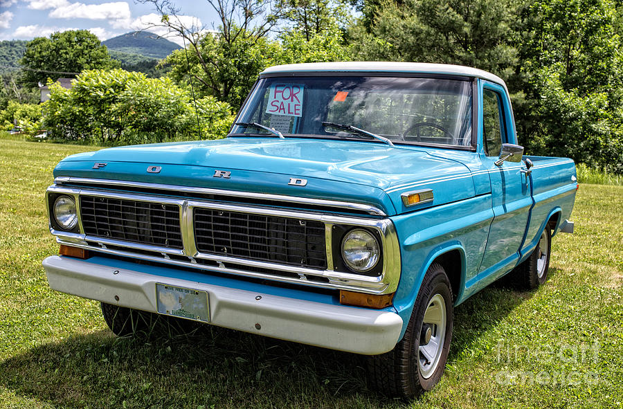 Are certainly Vintage ford pick up important and
