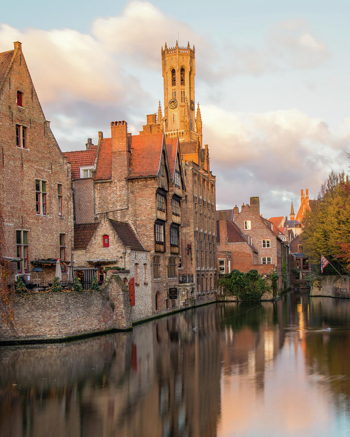 Bruges Photograph - Classic Bruges by Dalibor Hanzal