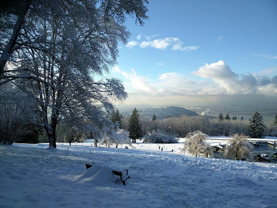 Winter Wonderland Photograph - Classic Canadian scene by Jordan Barnes