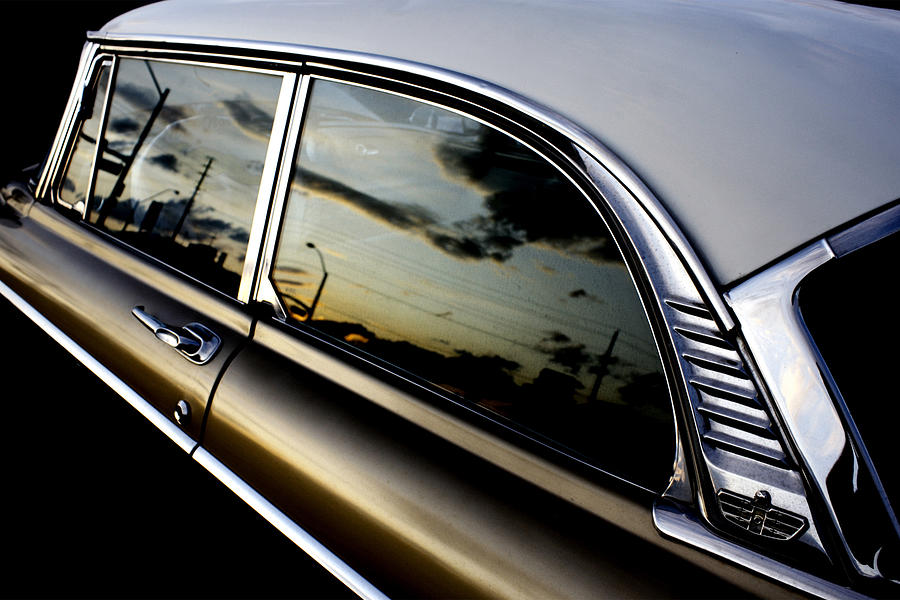 classic car at sunset by Neil Pankler