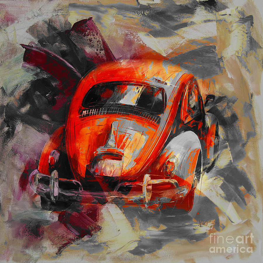 Cars Painting - Classic Car  by Gull G