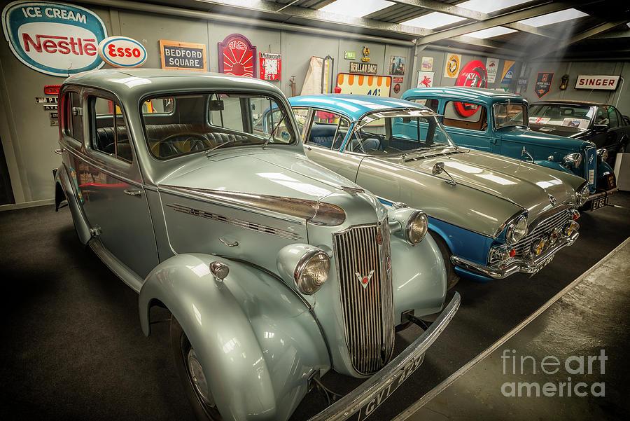 Classic Car Memorabilia Photograph by Adrian Evans