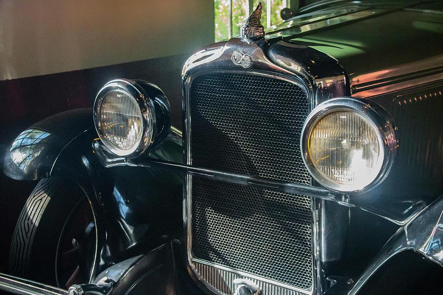 Asheville Photograph - Classic Car Museum, Asheville, Nc by Richard Goldman