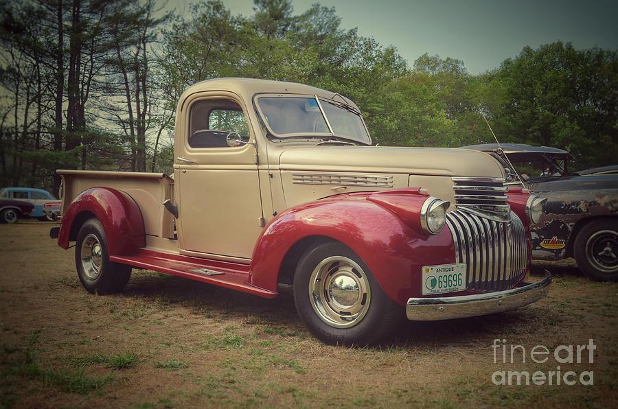 Classic Cars 1942 Chevy Half Ton Pickup Photograph By Jason Freedman