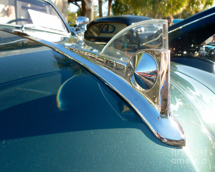 Custom Hood Ornaments >> Classic Cars 1950 Ford Custom Coupe Hood Ornament By Jason Freedman