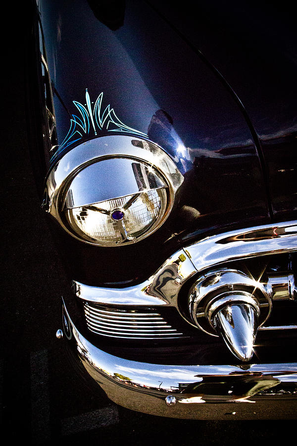 Chevy Photograph - Classic Chrome  by Merrick Imagery