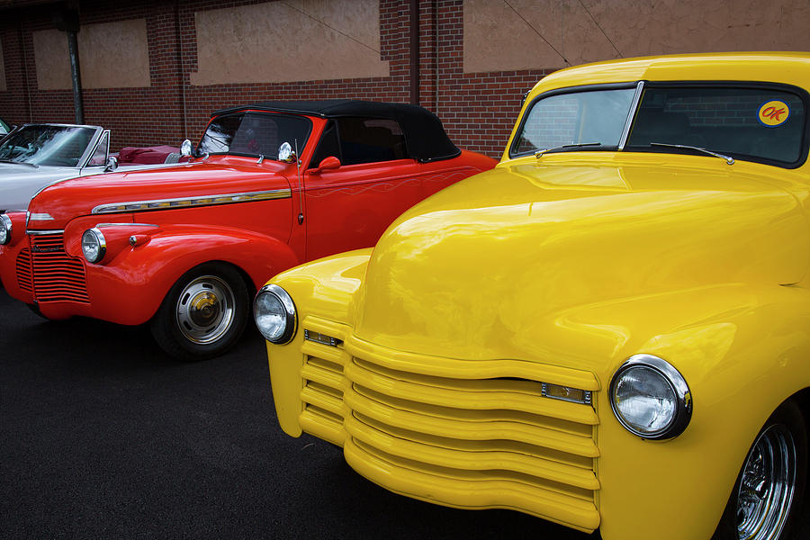 Digital Photograph - Classic Colors 5 by Jeff Roney