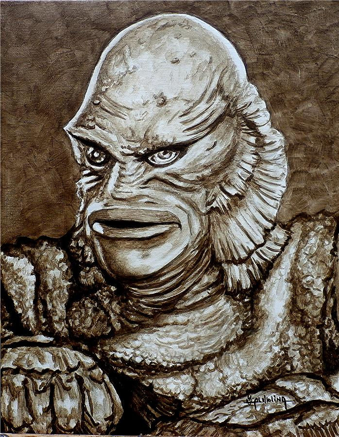Creature From The Black Lagoon Art