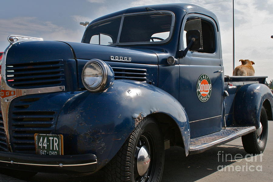 Truck Photograph - Classic Dodge  by Rick  Monyahan