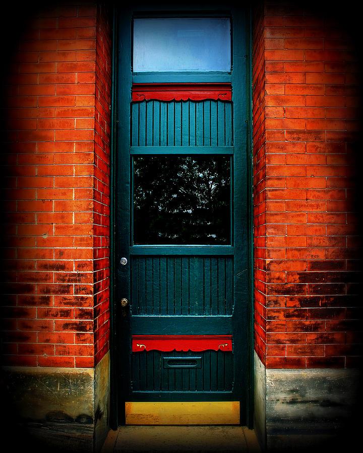 Door Photograph - Classic Door by Perry Webster
