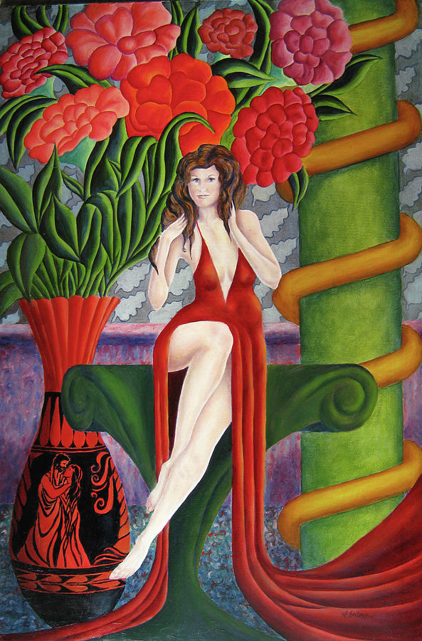 Figurative Painting - Classic Elegance by John Entrekin