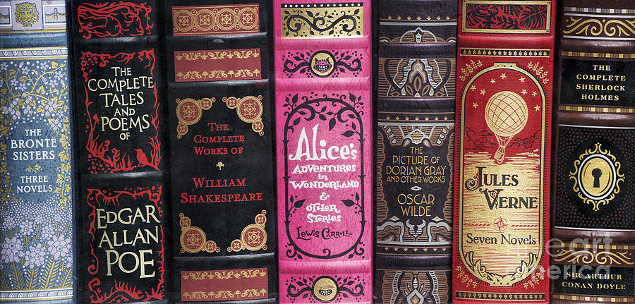 Classic English Literature Books Photograph by Tim Gainey