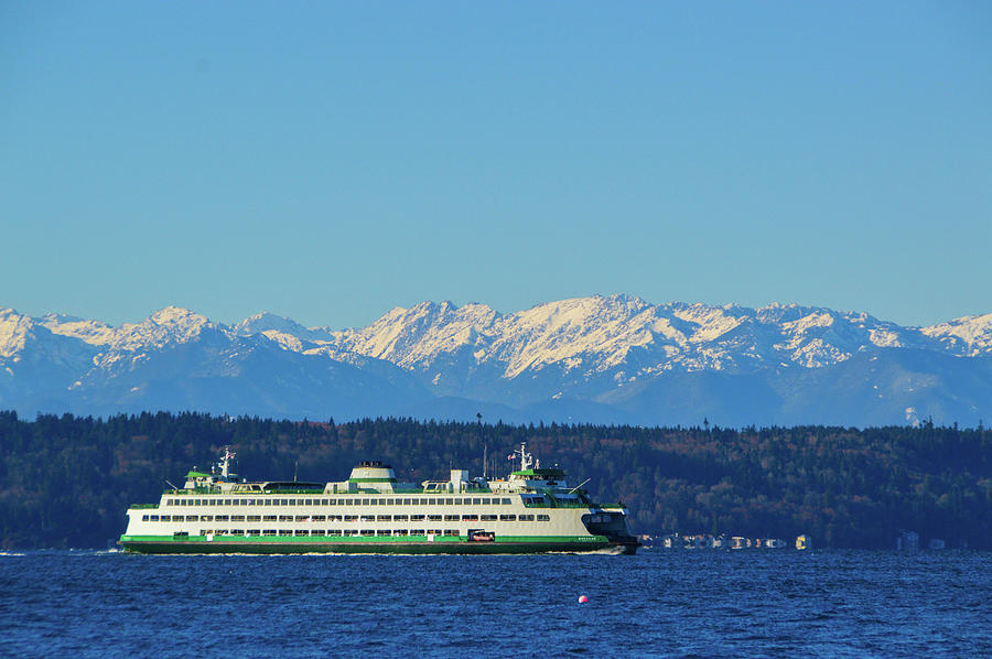 Ferry Photograph - Classic Ferry by Brian OKelly
