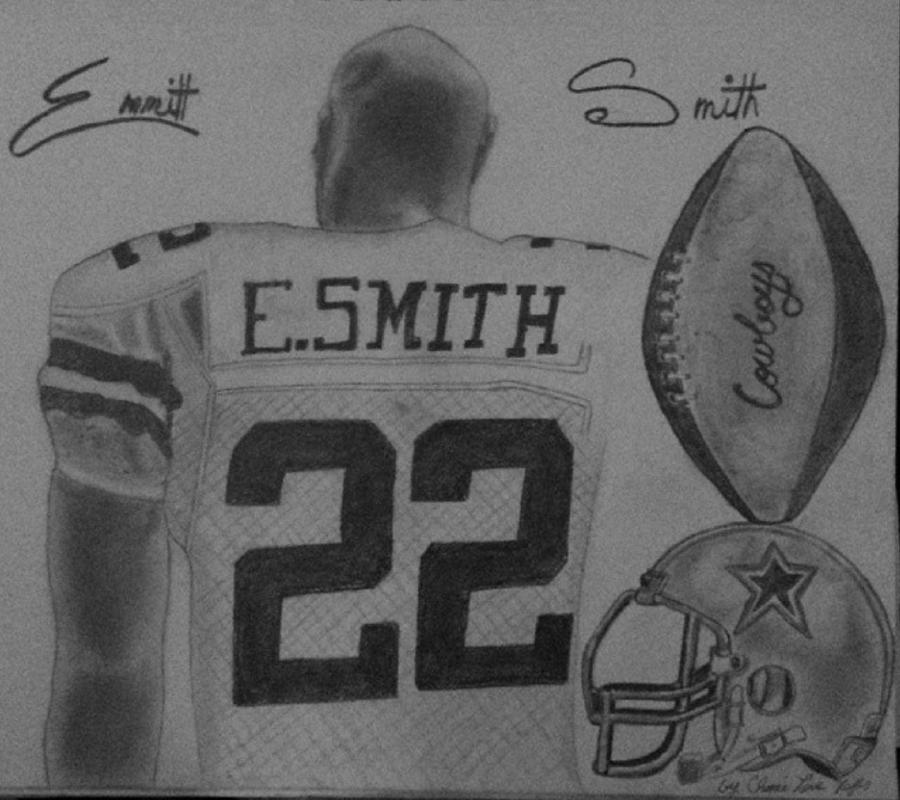 Emmit Painting - Classic Football by Love Reyes