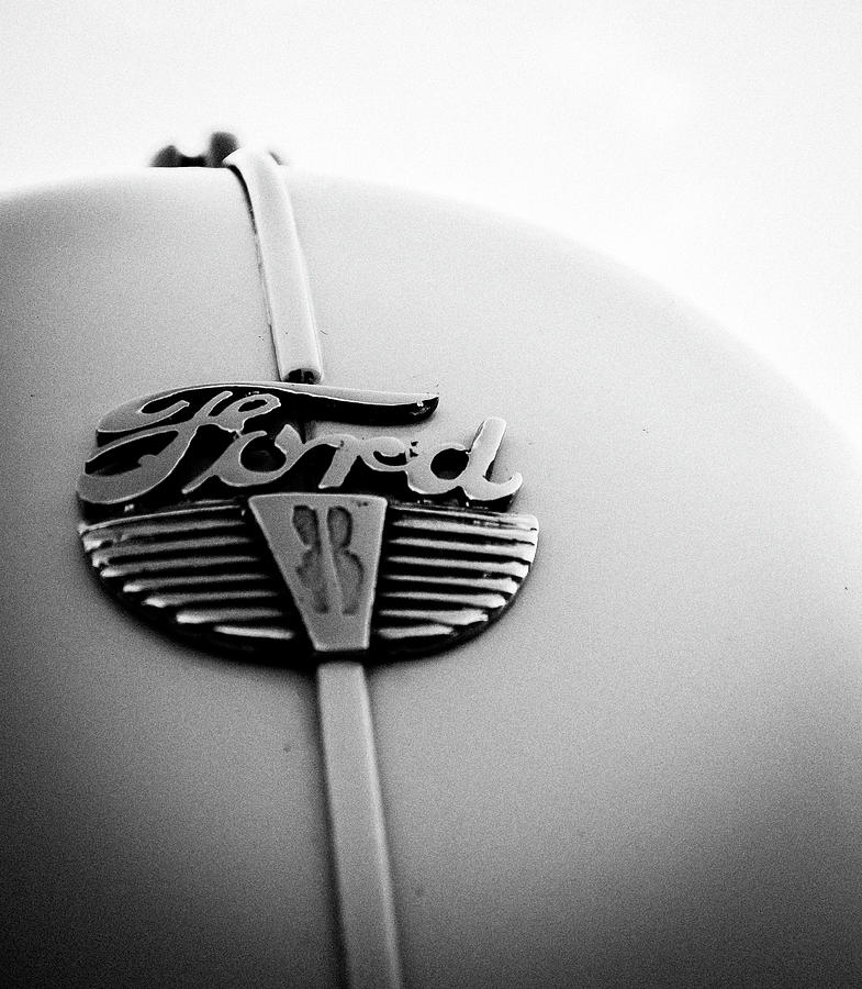 Classic Ford Emblem by GK Hebert Photography