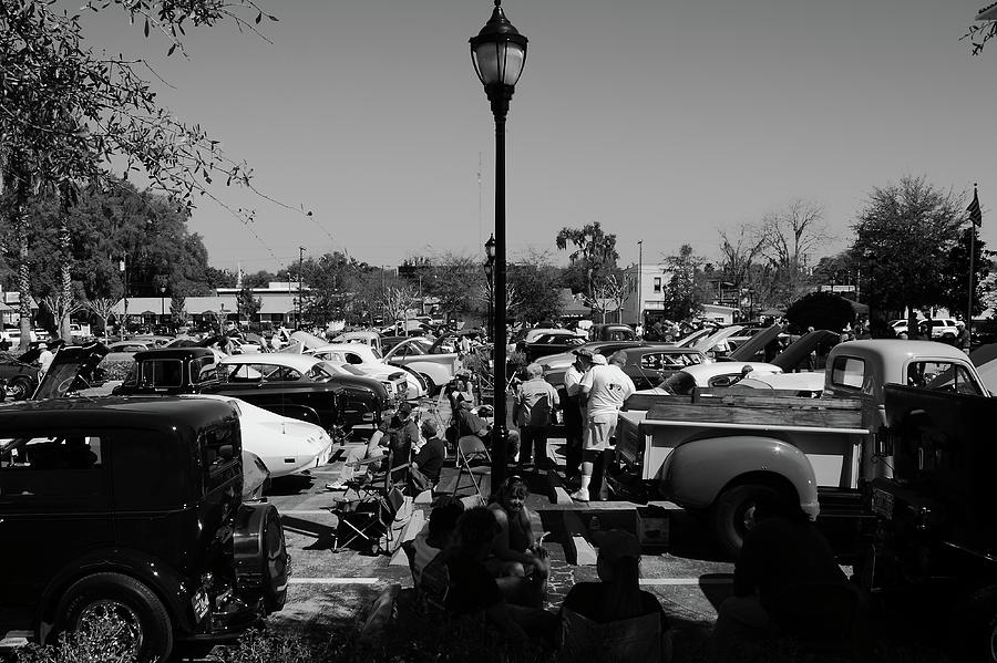 Old Cars Photograph - Classic Get Together by Jamie Smith