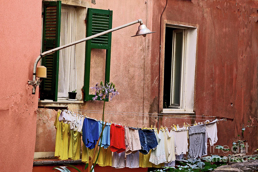 Laundress Photograph - Classic Hand Washing  by Frank Stallone
