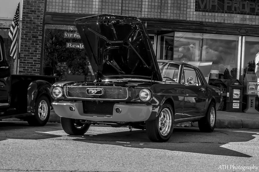 Ford Photograph - Classic Mustang by Andrew Hershfeld