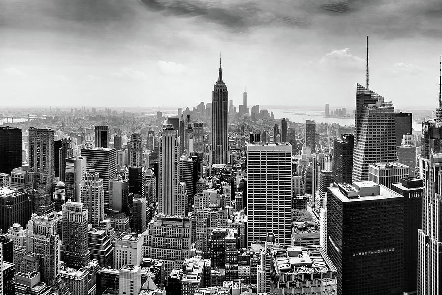 Empire State Building Photograph - Classic New York  by Az Jackson