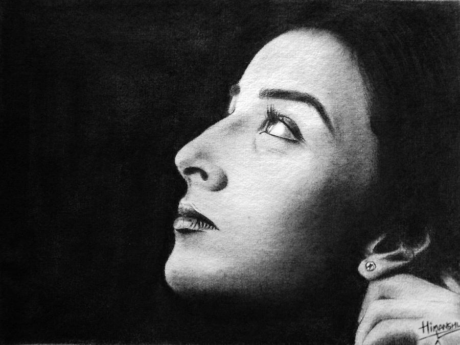 Pencil Portraits Drawing - Classic Photograph by Himanshu Jain