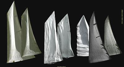 Seascape Photograph - Classic Sails by PJ Steinmeijer