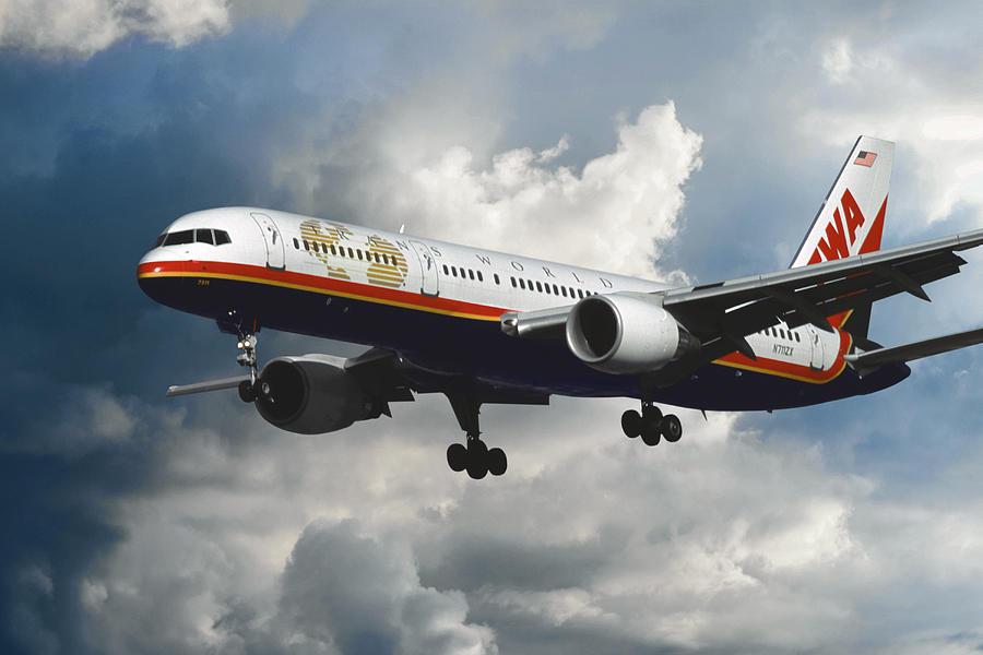 Trans World Airlines Photograph - Classic Twa Boeing 757-231 by Erik Simonsen