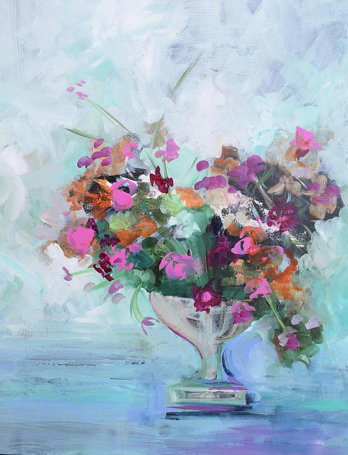 Classic Vase Blue by Karen Ahuja