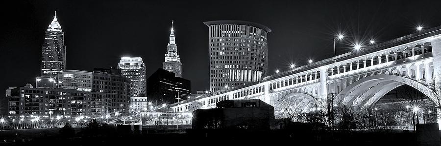 Cleveland Photograph - Classic View In Cle by Frozen in Time Fine Art Photography
