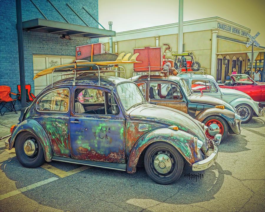 Classic VW Bug by Rebecca Korpita