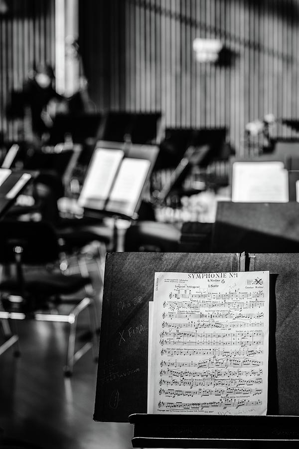 Classical Sheet Music Photograph