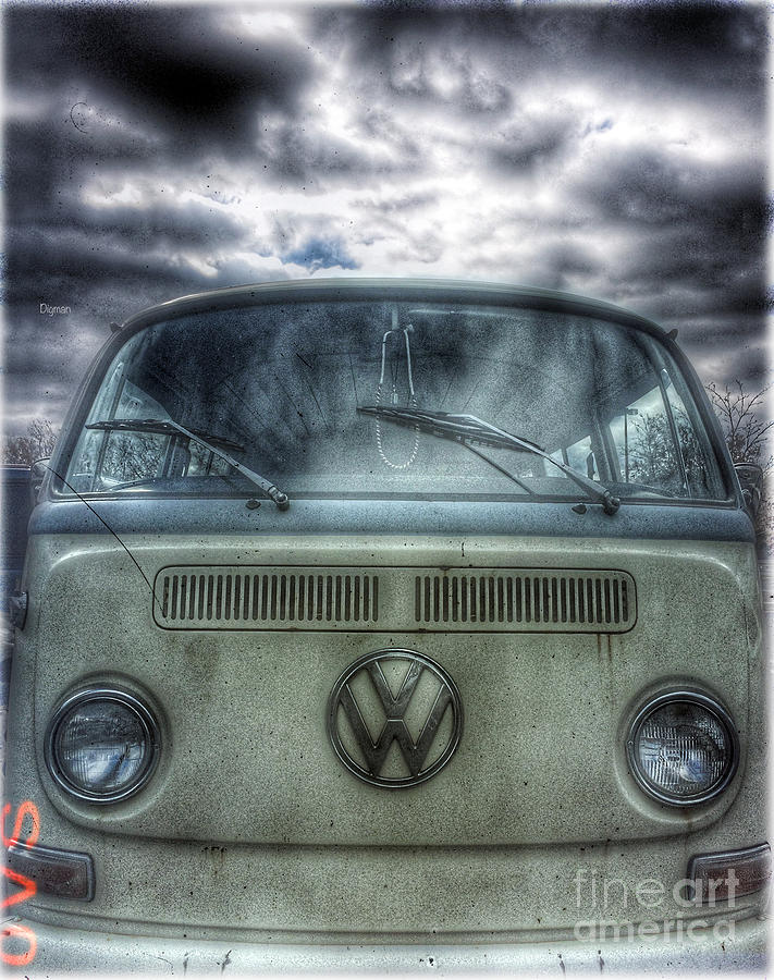 Vw Photograph - Classical Sixties  by Steven Digman