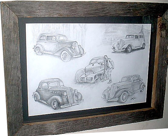 Classics Drawing by Crystal Sons