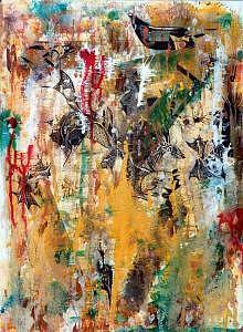 Claves Para El Color Painting by Rafik Neme