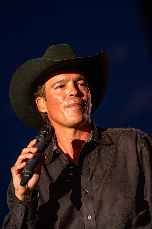 Clay Walker Photograph - Clay Walker Concert by Mike Burgquist