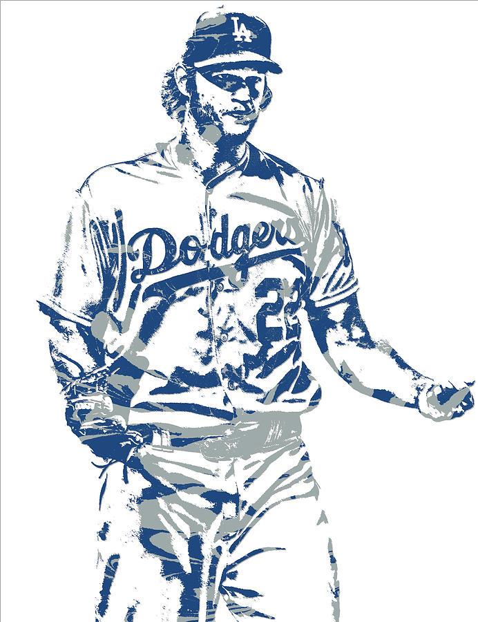 Clayton Kershaw Los Angeles Dodgers 10 iphone case