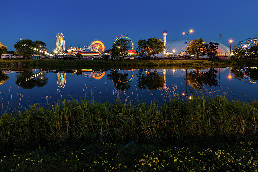 Fair Photograph - CLE Reflection by Linda Ryma