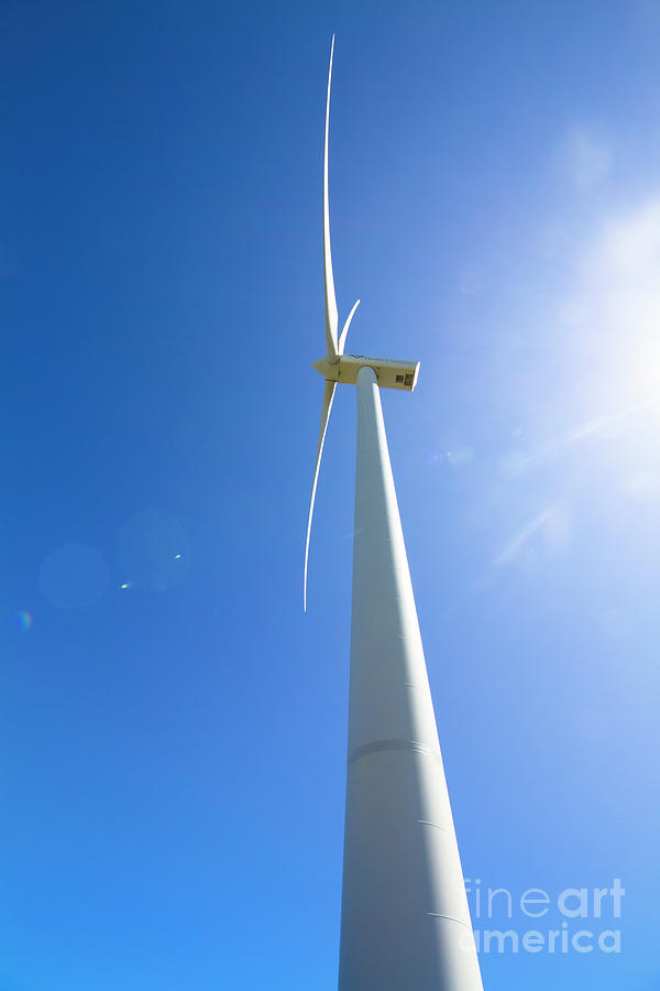 Renewable Photograph - Clean Blue Energy by Jorgo Photography - Wall Art Gallery