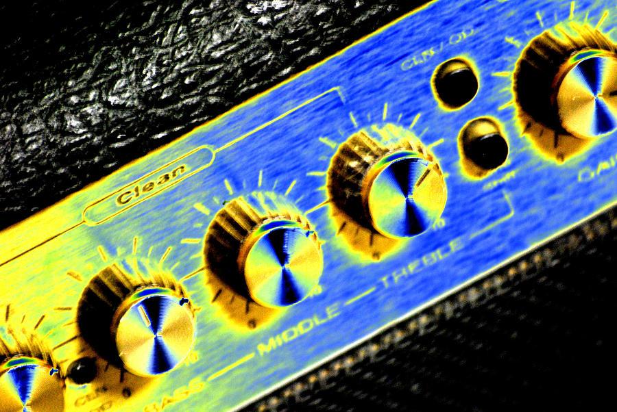 Amp Digital Art - Clean Sound by Peter  McIntosh